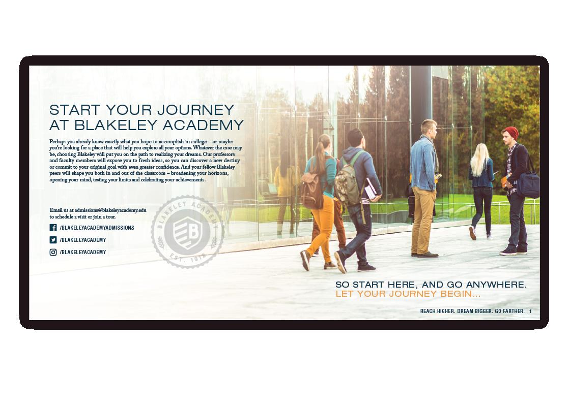 Blakeley Academy Campus Look Book